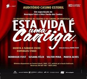 pub – Auditório do Casino Estoril estreia a 16 março