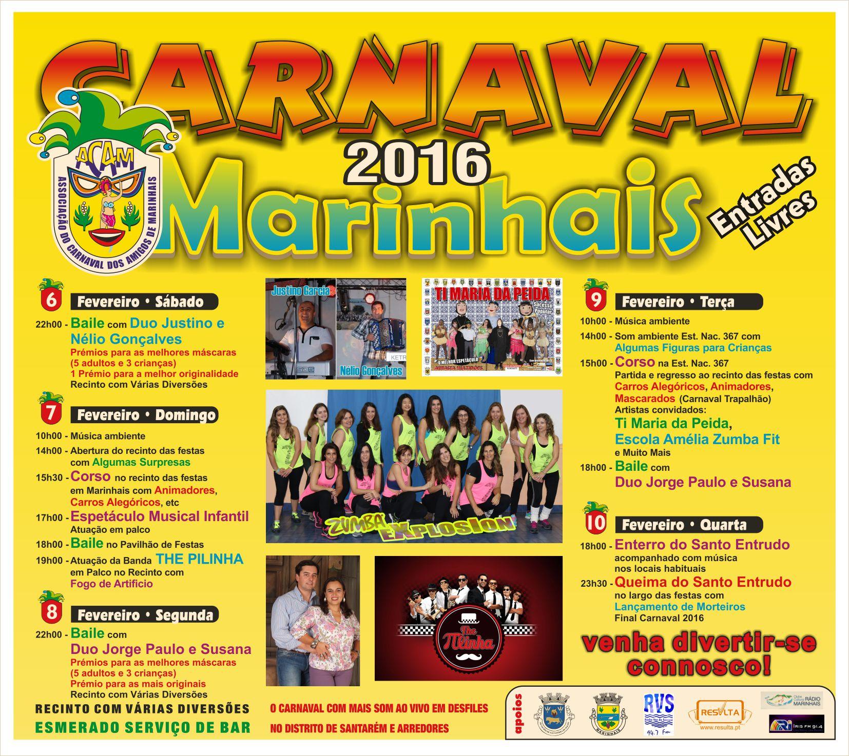 carnaval marinhais