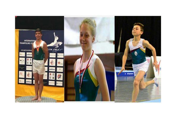 Ateneu leva Ginastas ao Campeonato do Mundo