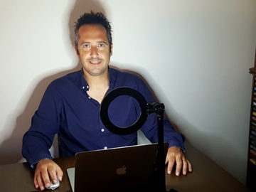 João Raquel, maestro natural de Benavente, cria escola online