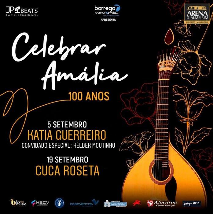 pub – concerto amália 100 anos na arena de almeirim
